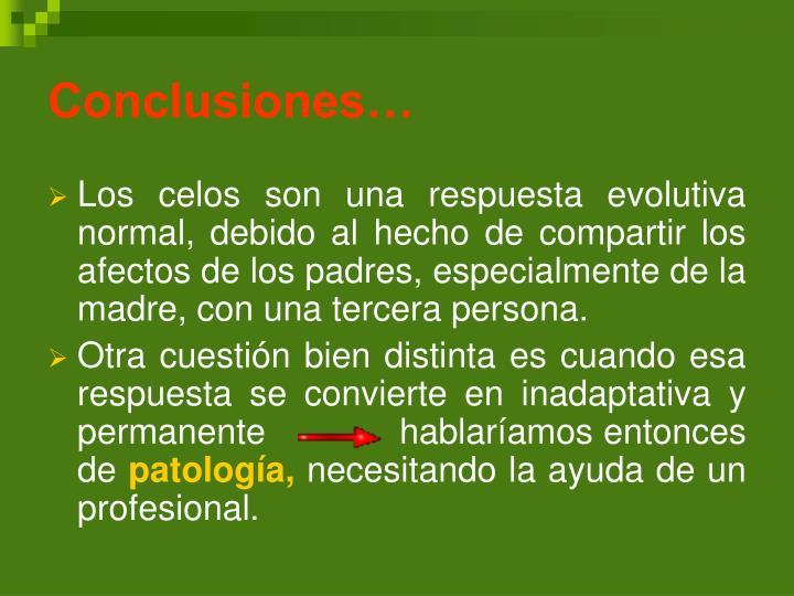 Conclusiones…