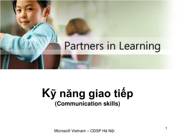 K n ng giao ti p communication skills