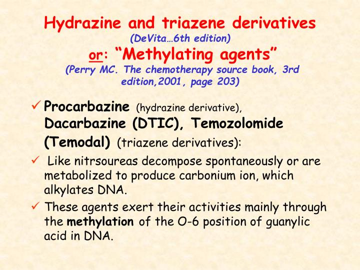 Hydrazine and triazene derivatives