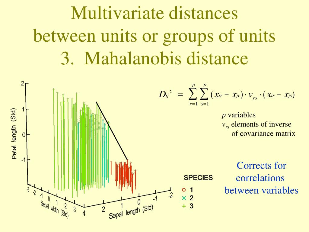 PPT - Introduction to Multivariate Analysis and Multivariate