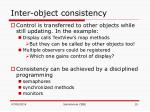 inter object consistency