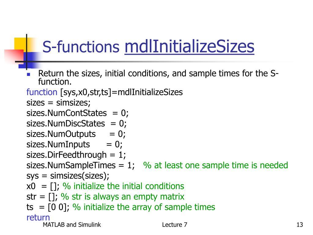 Beaches] Matlab initialize matrix size