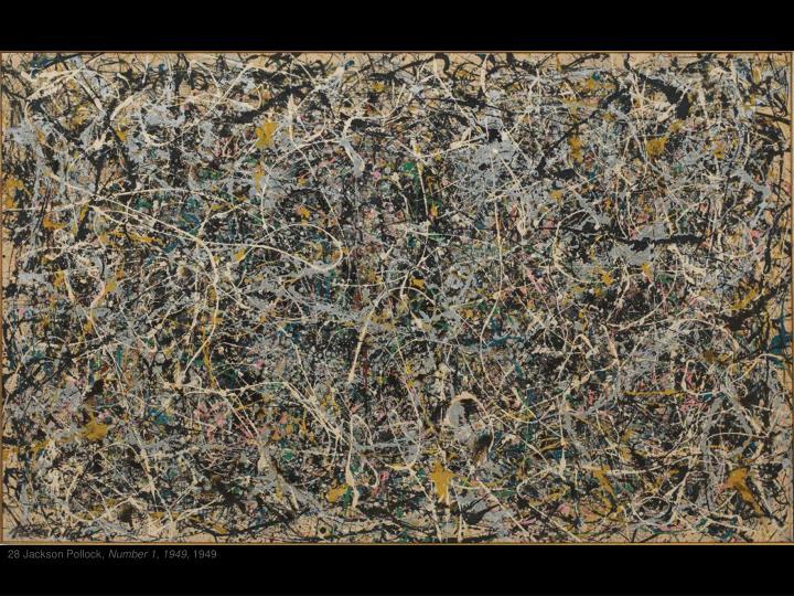 28 Jackson Pollock,