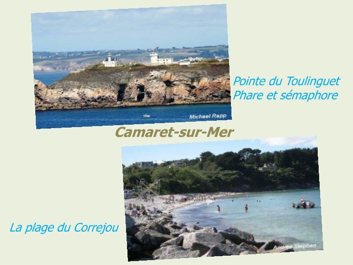 Pointe du Toulinguet Phare et sémaphore