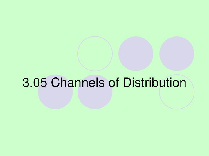 3 05 channels of distribution n.