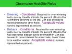 observation host site fields2