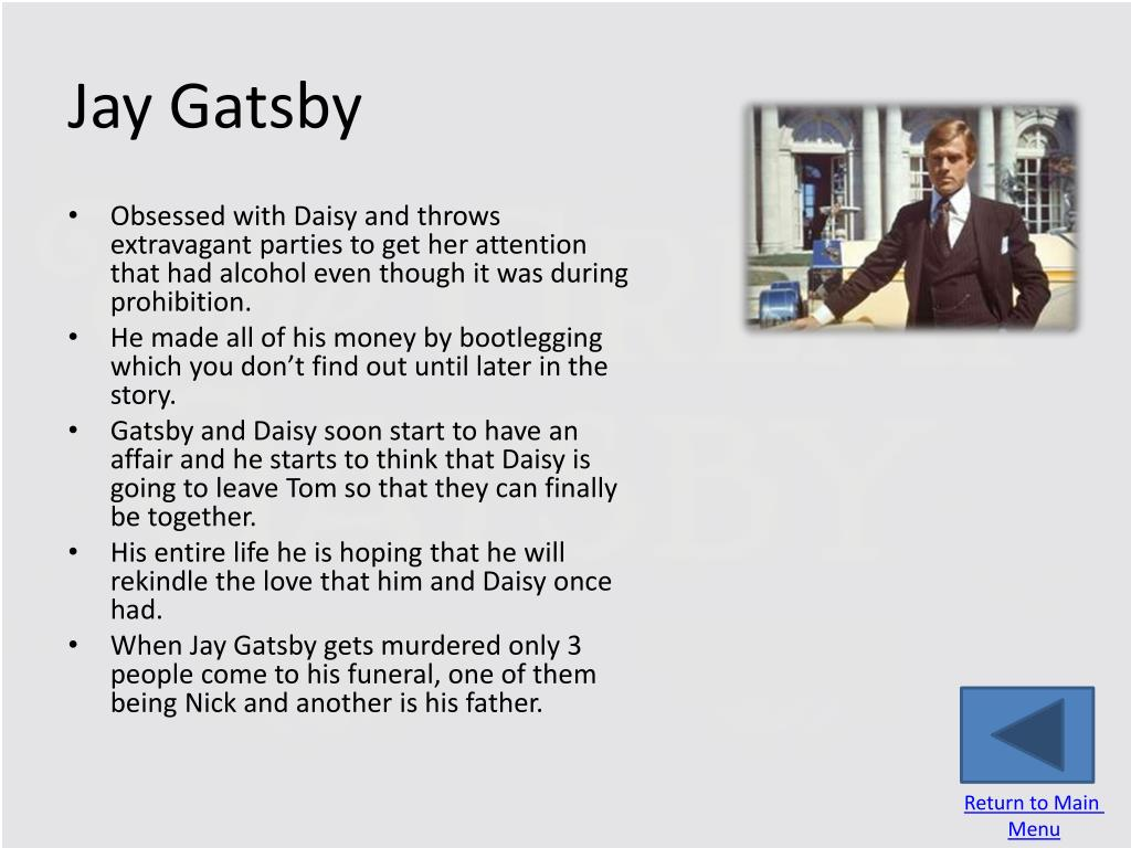 PPT - The Great Gatsby PowerPoint Presentation - ID:2976567