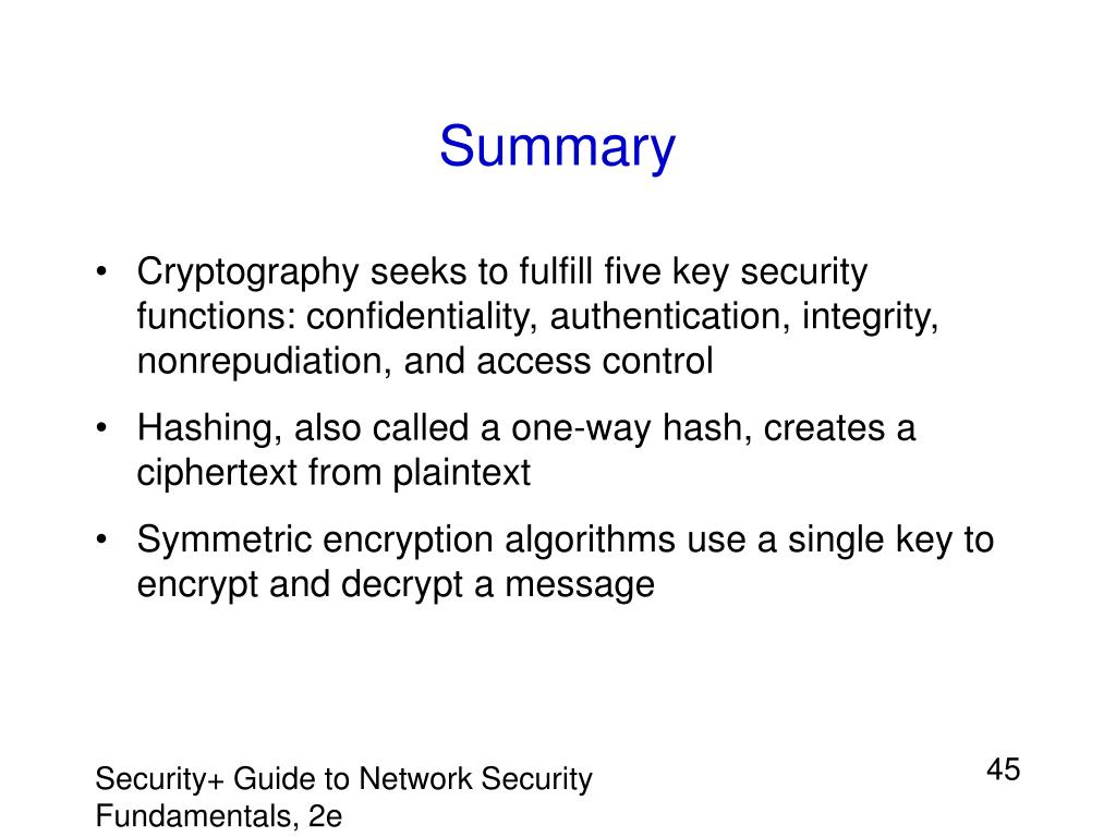 PPT - Chapter 8: Scrambling Through Cryptography PowerPoint