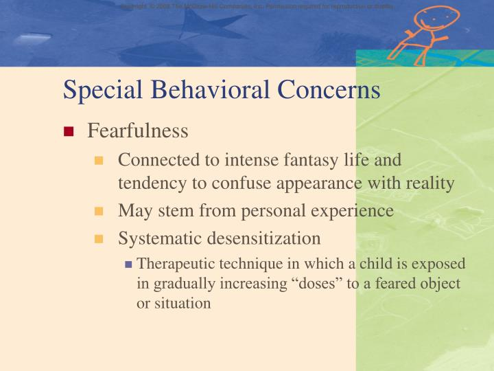 Special Behavioral Concerns