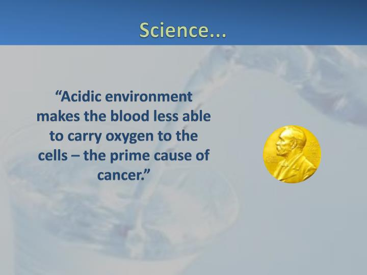 Science...