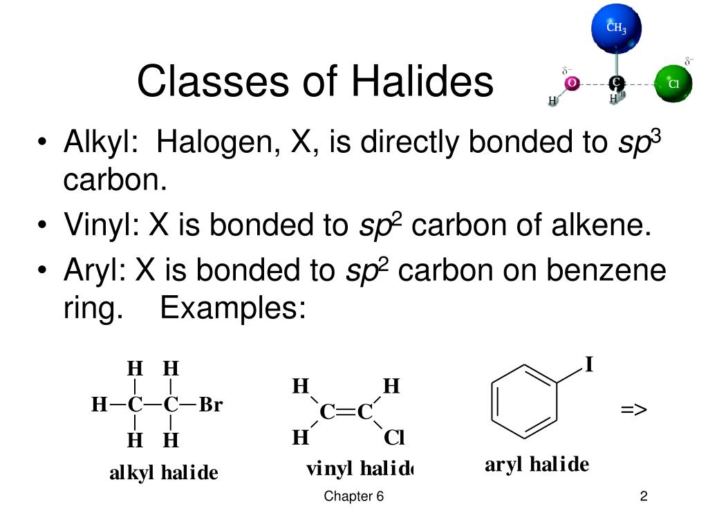 Ppt Chapter 6 Alkyl Halides Nucleophilic Substitution