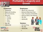 profitability longevity and growth6