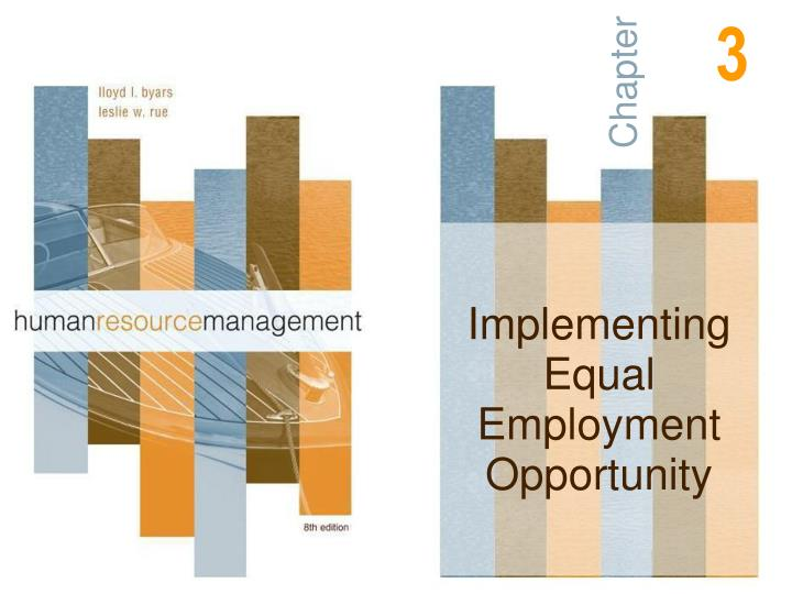 challenges pertaining to implementation of the equal opportunity in employment Revision no 2 equal opportunity program and plan  ensure the development and implementation of an equal employment opportunity  and guidelines pertaining to.