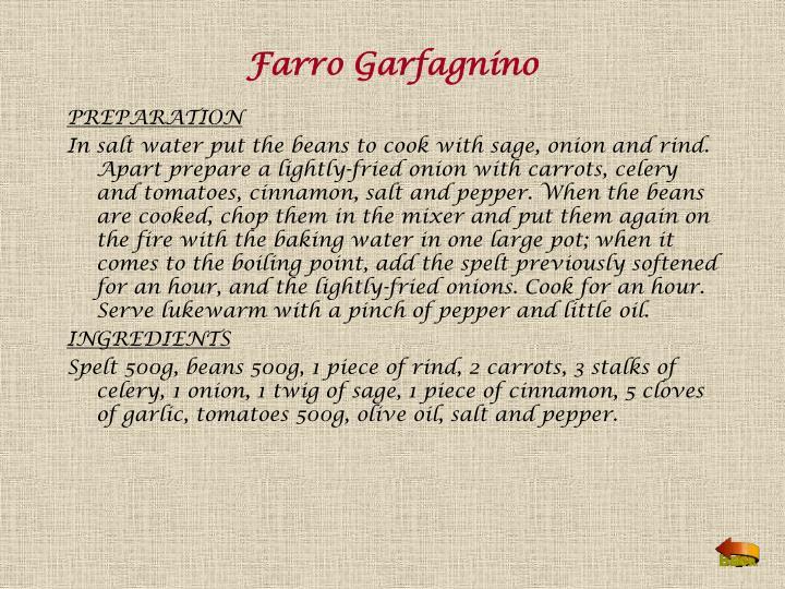 Farro Garfagnino