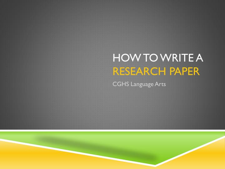 powerpoint on research paper A research paper is a piece of academic writing based on its author's original research on a particular topic, and the analysis and interpretation of the research findings it can be either a term paper, a master's thesis or a doctoral dissertation.
