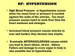 rf hypertension
