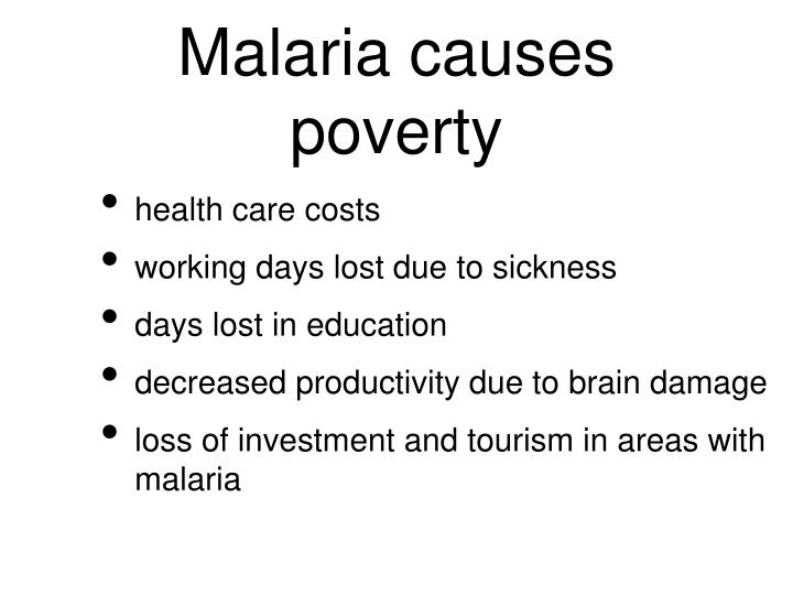 malaria can cause several different effects biology essay Once in the blood stream, they begin to do the symptoms of malaria 2 malaria can besides be transmitted through blood transfusions if an septic individual donates blood, the blood will incorporate malaria parasites.
