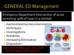 general ed management