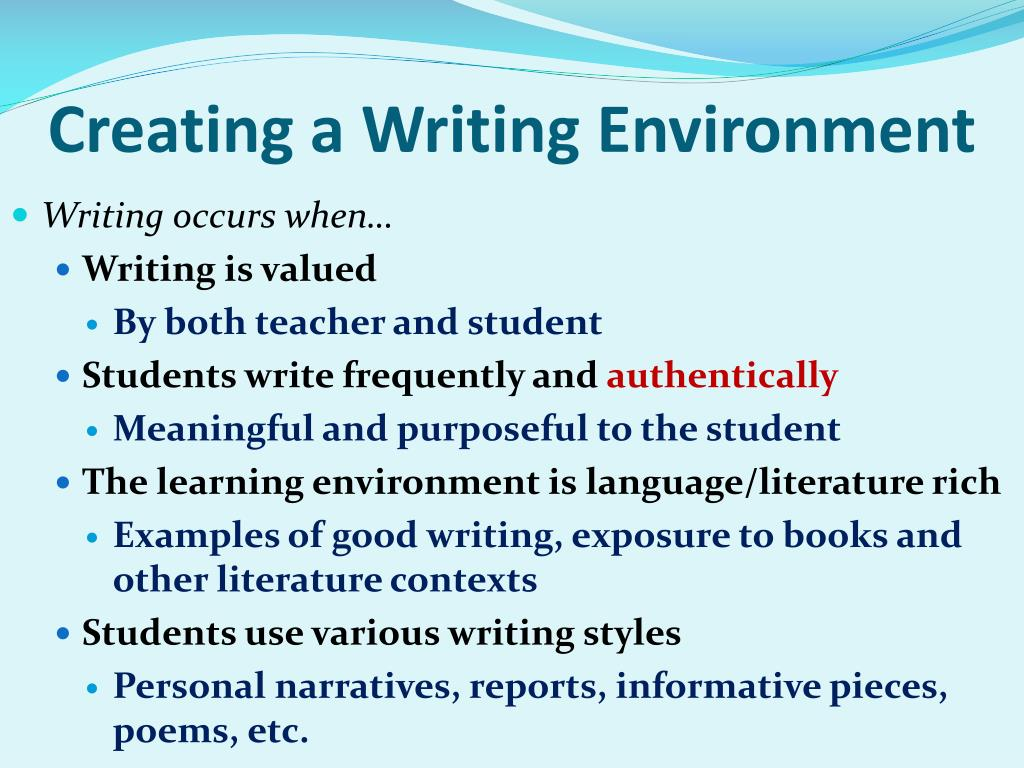 Environmental essay writers