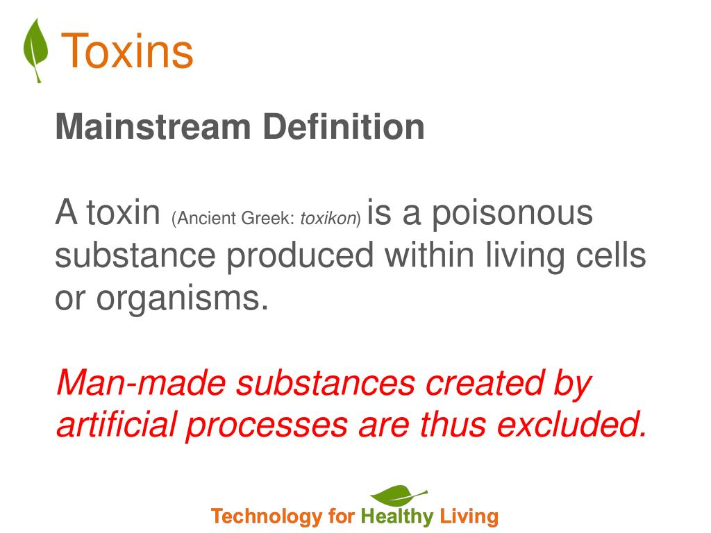 a toxine definition
