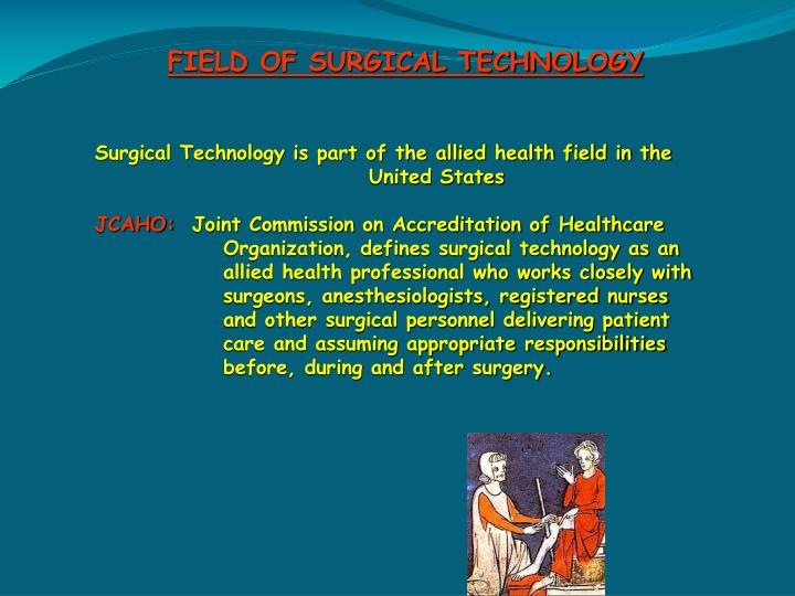 FIELD OF SURGICAL TECHNOLOGY