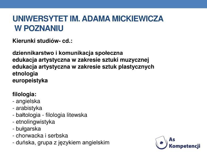Uniwersytet im. Adama
