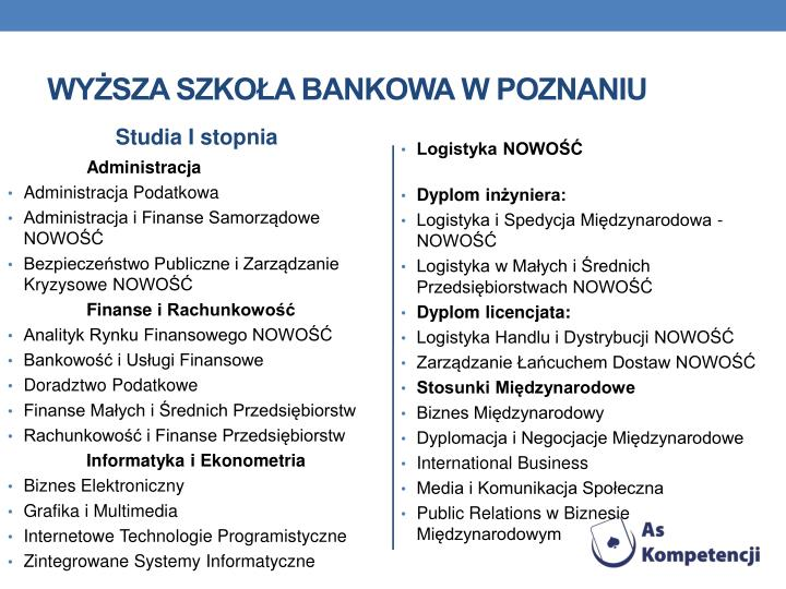 Wyższa Szkoła Bankowa w Poznaniu