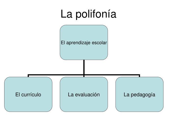 La polifonía