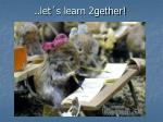 let s learn 2gether