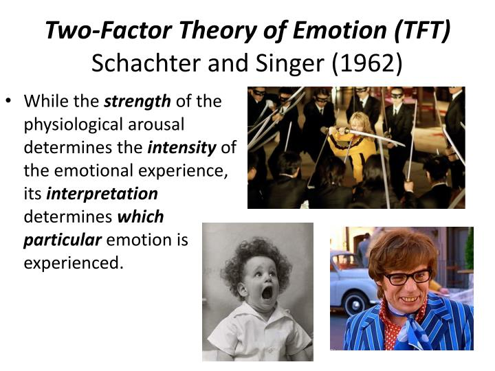 "two factor theory of emotion essay Motivation, emotion, personality essay prompts emotion, personality essay what is the schachter ""two-factor"" theory of emotion and with what approach."