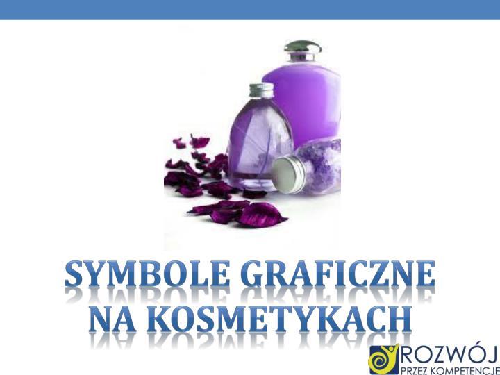 SYMBOLE GRAFICZNE