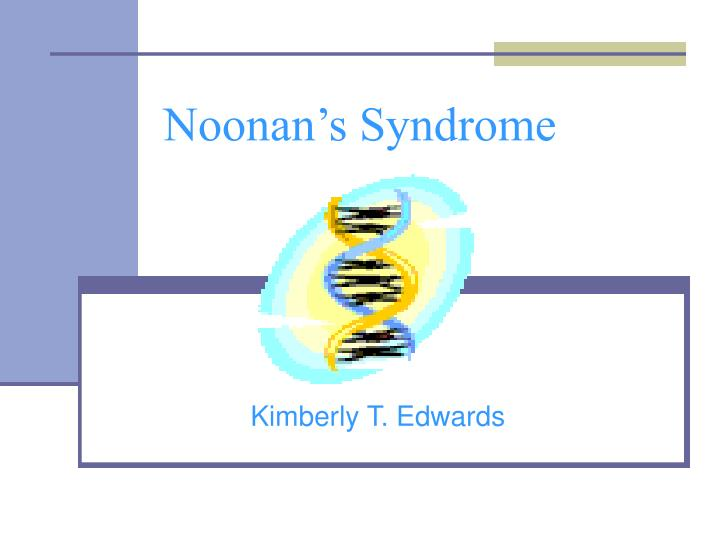 noonan s syndrome n.