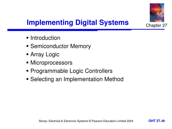 implementing digital systems