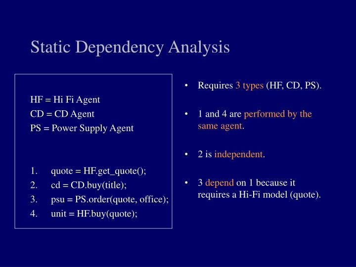 HF = Hi Fi Agent