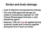 stroke and brain damage1