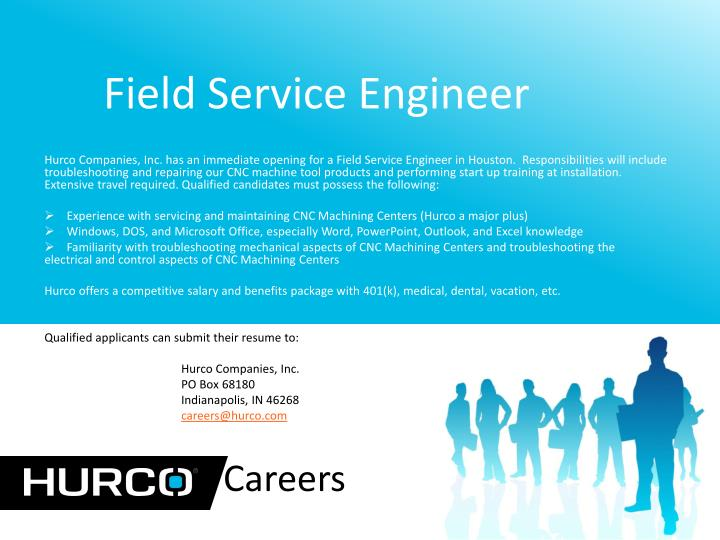 PPT - Field Service Engineer PowerPoint Presentation - ID