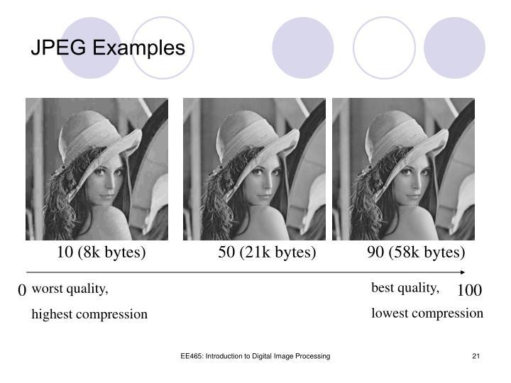 JPEG Examples