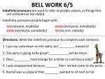 bell work 6 5
