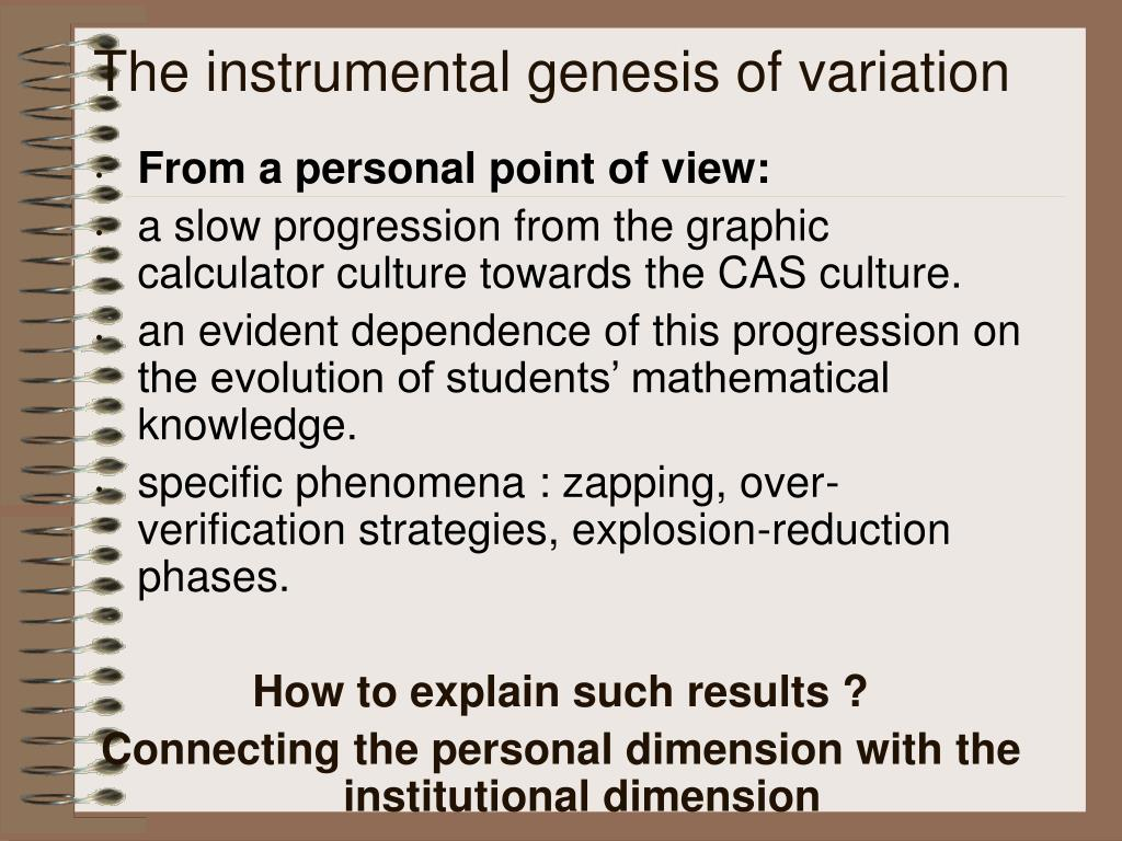PPT - The instrumental approach: the institutional dimension