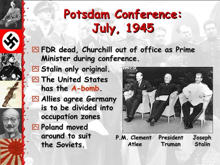 Potsdam Conference: