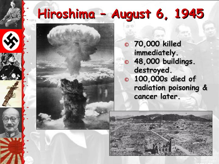 Hiroshima – August 6, 1945