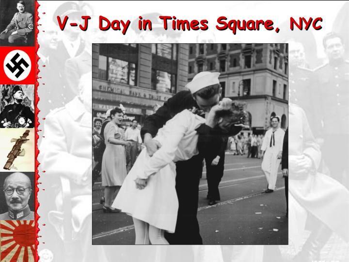 V-J Day in Times Square,