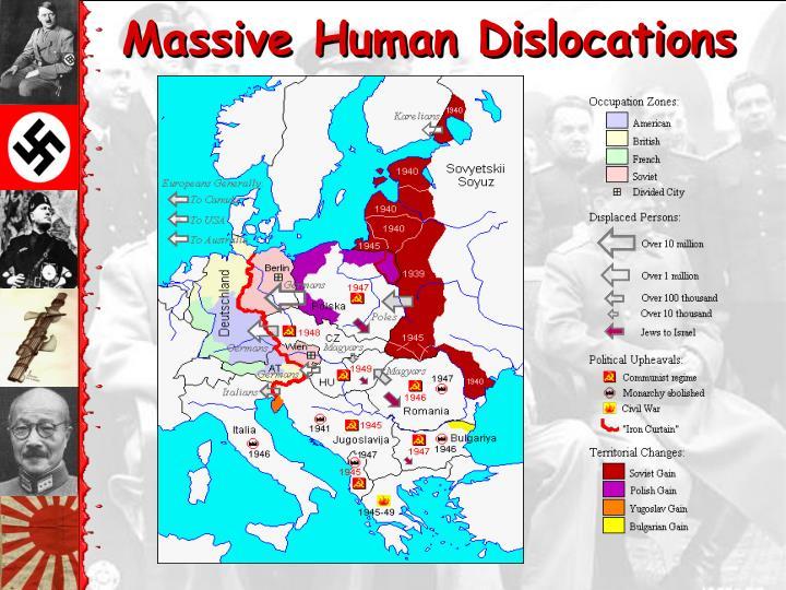 Massive Human Dislocations
