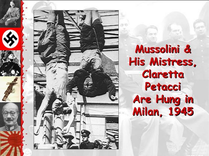 Mussolini &