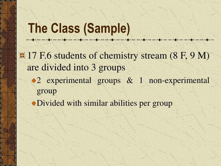 The Class (Sample)