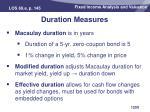 duration measures