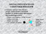 social influences on consumer behavior