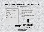 step two information search continued