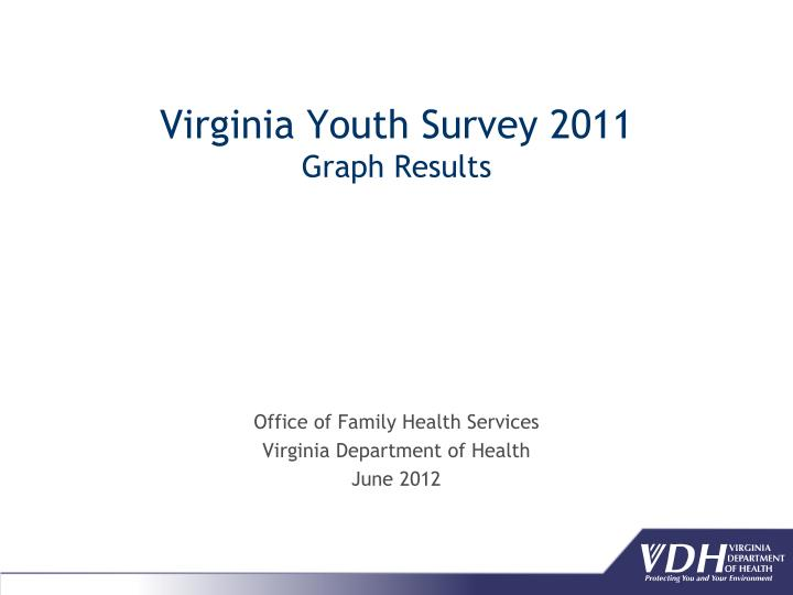 virginia youth survey 2011 graph results n.
