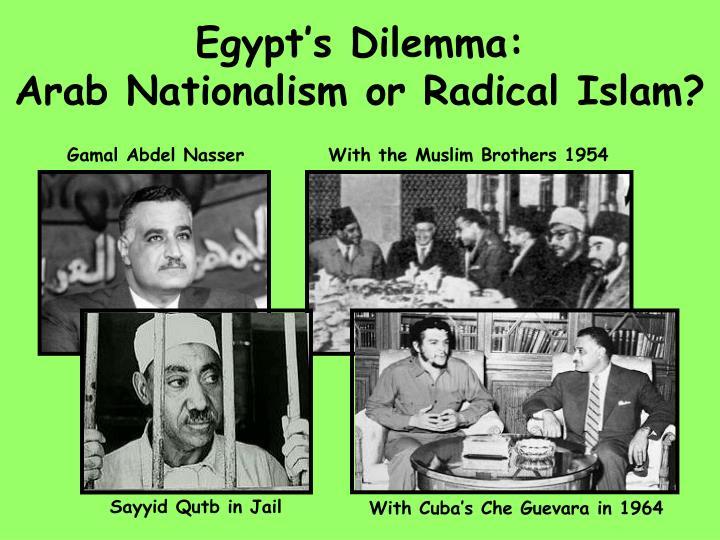 Egypt s dilemma arab nationalism or radical islam